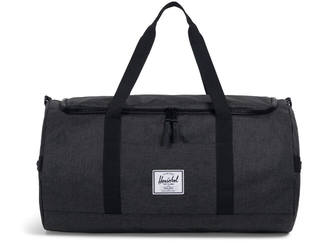 Herschel Sutton Duffel, black crosshatch/black